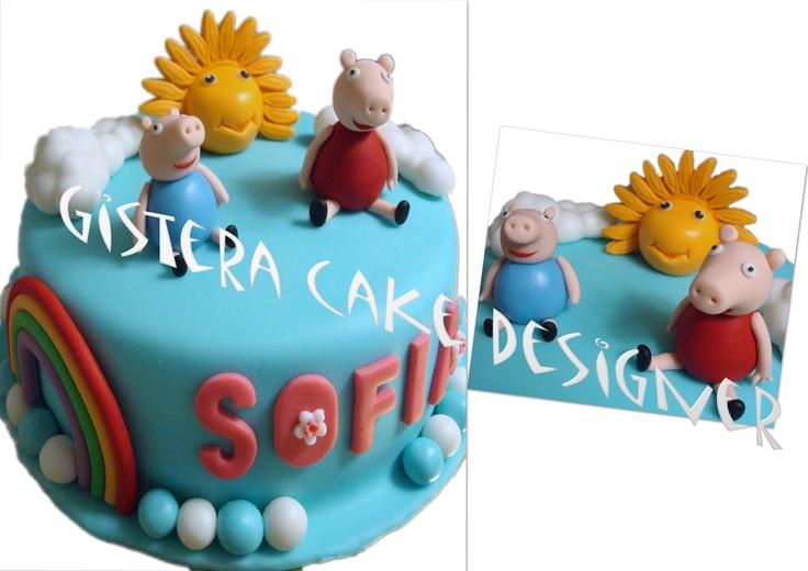 Cake Peppa Pig