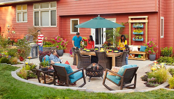 look at this backyard oasis! do you know how much fun my family ... - Patio Party Ideas