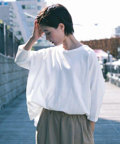 【ZOZOTOWN 送料無料】かぐれ(カグレ)のTシャツ/カットソー「かぐれ オーガニックコットンのビッグPO」(GA66-21A003)を購入できます。