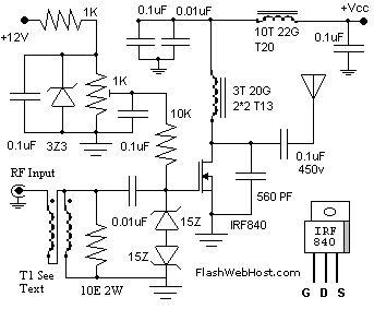 60w linear amplifier with fet | eletrônica | pinterest ... #12