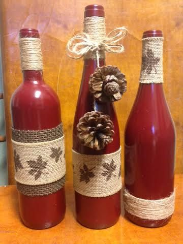 The Pine, Maple, and Fall Goodness Wine Designs trio brings to life the dark, warm colors of autumn. You might even taste the sweet flavors of fall. Check out more in our Etsy shop!