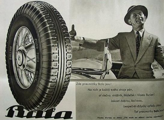 Flashback: More than a Shoe, Bata was also a Tire | Bata World News