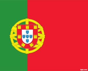 Flag of Portugal PowerPoint is a PPT template with Portugal flag in PowerPoint that you can download and use for your own presentation needs