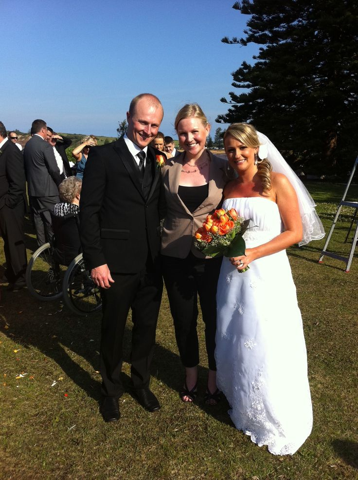 A lovely wedding at Collaroy Headland. Sunshine & Smiles all around. www.clairebelford.com.au