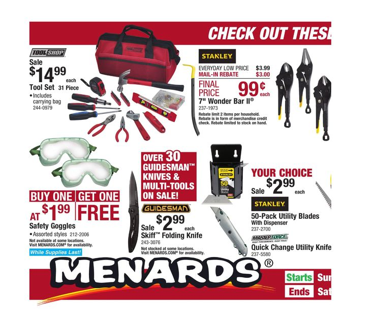 Menards Weekly Ad July 23 - August 5, 2017 - http://www.olcatalog.com/grocery/menards-ad.html
