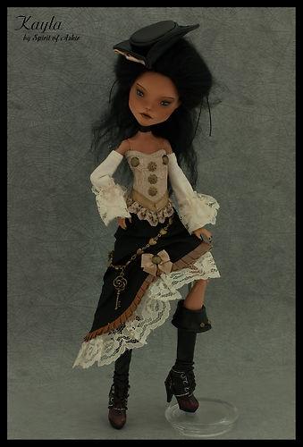 eBay | *KAYLA* OOAK Monster High custom CLEO repaint & outfit by `Spirit of Askir´