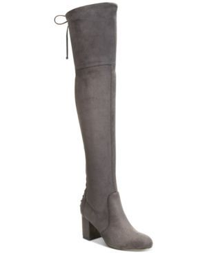 Charles by Charles David Ollie Stretch Over-The-Knee Boots - Gray 6M