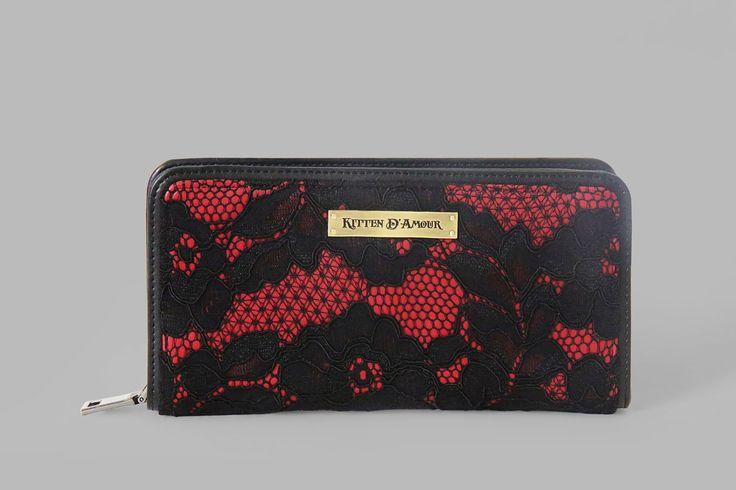 Le Chat Noir Lace Wallet