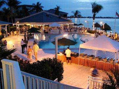 Possible Reception Venue Pool Deck Wedding At Isla Del Sol Yacht Country Club In St Petersburg Fl Near Pete Beach And Fort Desoto