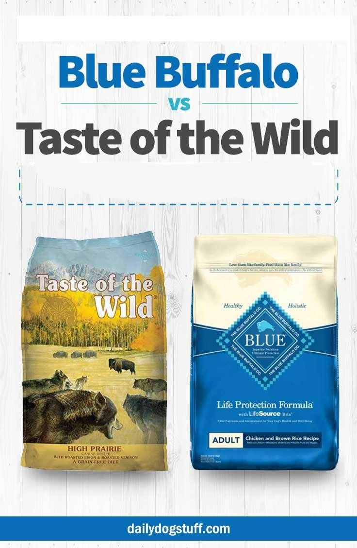 Blue Buffalo Vs Taste Of The Wild Dog Food Comparison Of 2 Top