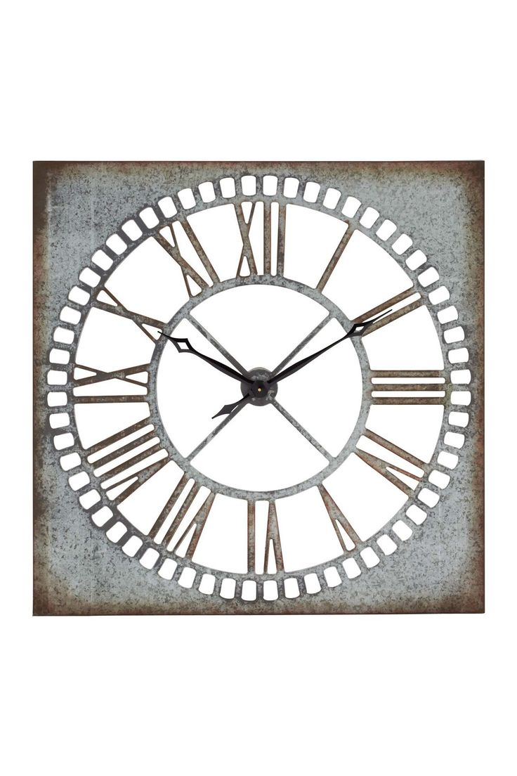 "UMA Metal Wall Clock - 36"" x 36"""