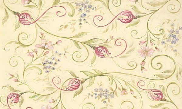 Tulip Scroll by Kate McRostie | DecalGirl