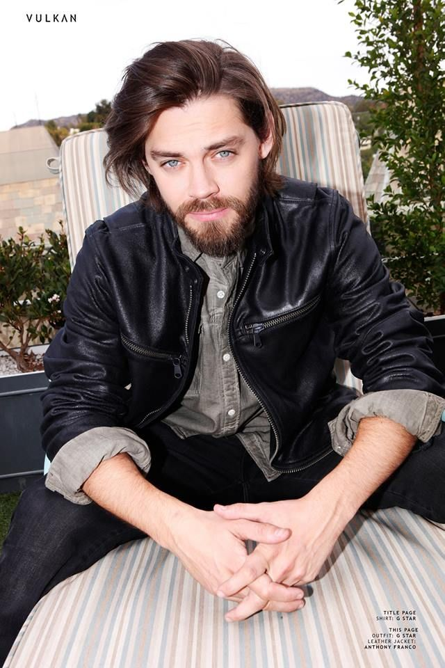 Tom Payne for VULKAN Magazine SPRING/SUMMER 2016
