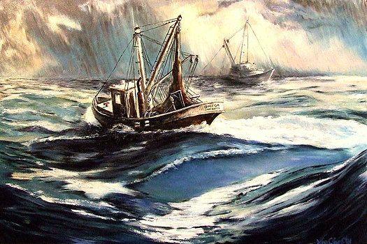 Wild Sea by Willem Van Cleef