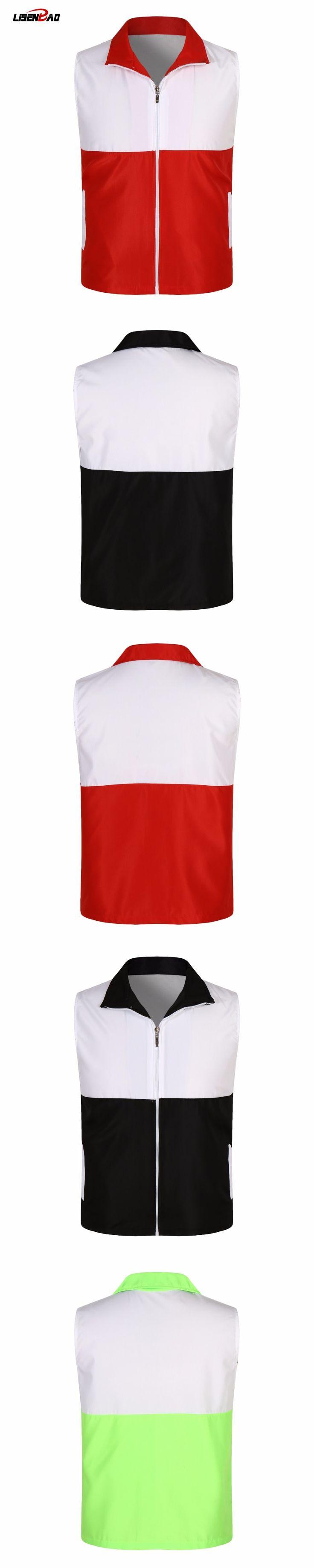 2017 New Arrival Brand Men Sleeveless Jacket summer Casual Vest Slim Men's Vest  Splicing thin section Waistcoat Mens Jacket