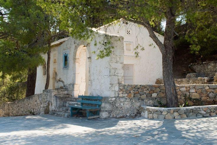 Picturesque chapel of Assos village in Kefalonia island! Wedding venue