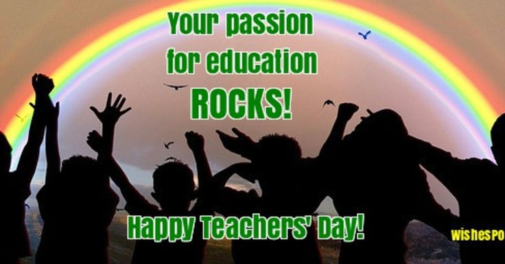 35 Happy Teachers' Day Wishes