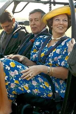 Beatrix en Claus