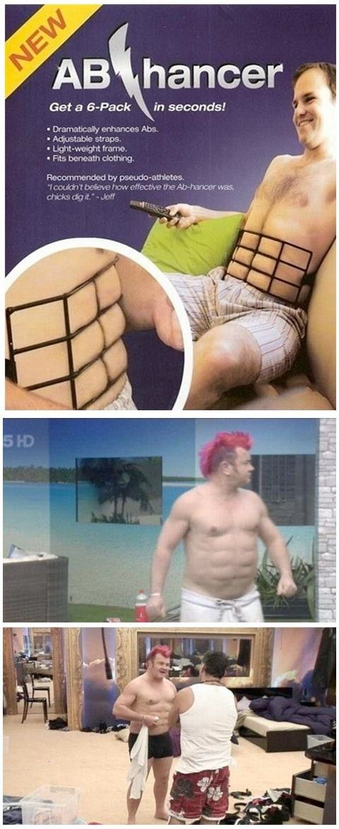 Hilarious! The truth about abs - finally revealed! lol