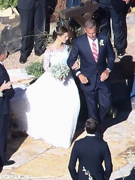 See Allison Williams's Gorgeous Ranch Wedding
