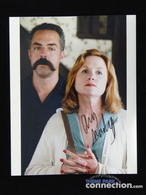 """Gone Baby Gone 2007 Movie Actress Amy Madigan Signed Autograph 8"""" X 10"""" & Source Photo"""