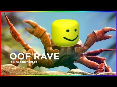 Oof Rave (Crab Rave but it's on ROBLOX) - YouTube | good music