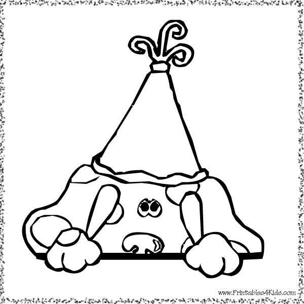 blues clues birthday coloring pages - 25 best ideas about blues clues on pinterest childhood