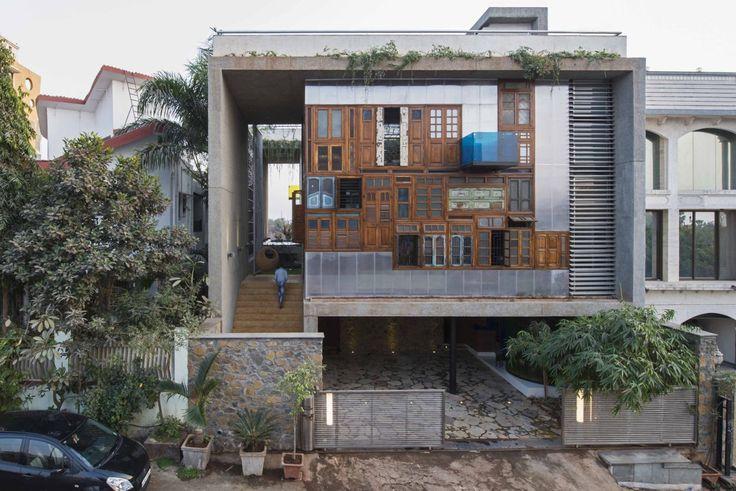 Проект Collage House от студии S+PS Architects http://archiq.ru/proekt-collage-house-ot-stydii-sps-architects/