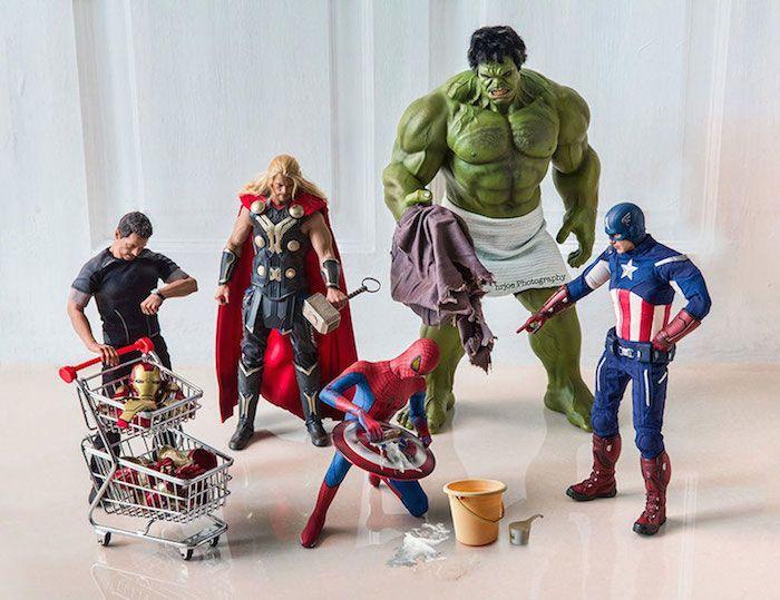 Superhero Action Figure Toys    Edy Hardjo    www.facebook.com/hrjoephotography