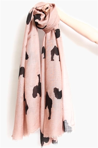 // camel scarf