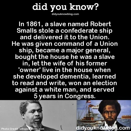 did-you-kno:  He also helped convince Abraham Lincoln to let African Americans fight for their own freedom. Source