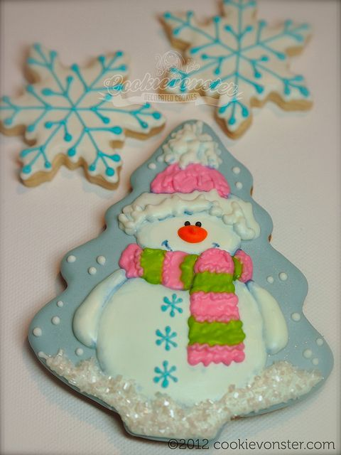 Snowman (Christmas Tree Cookie Cutter)