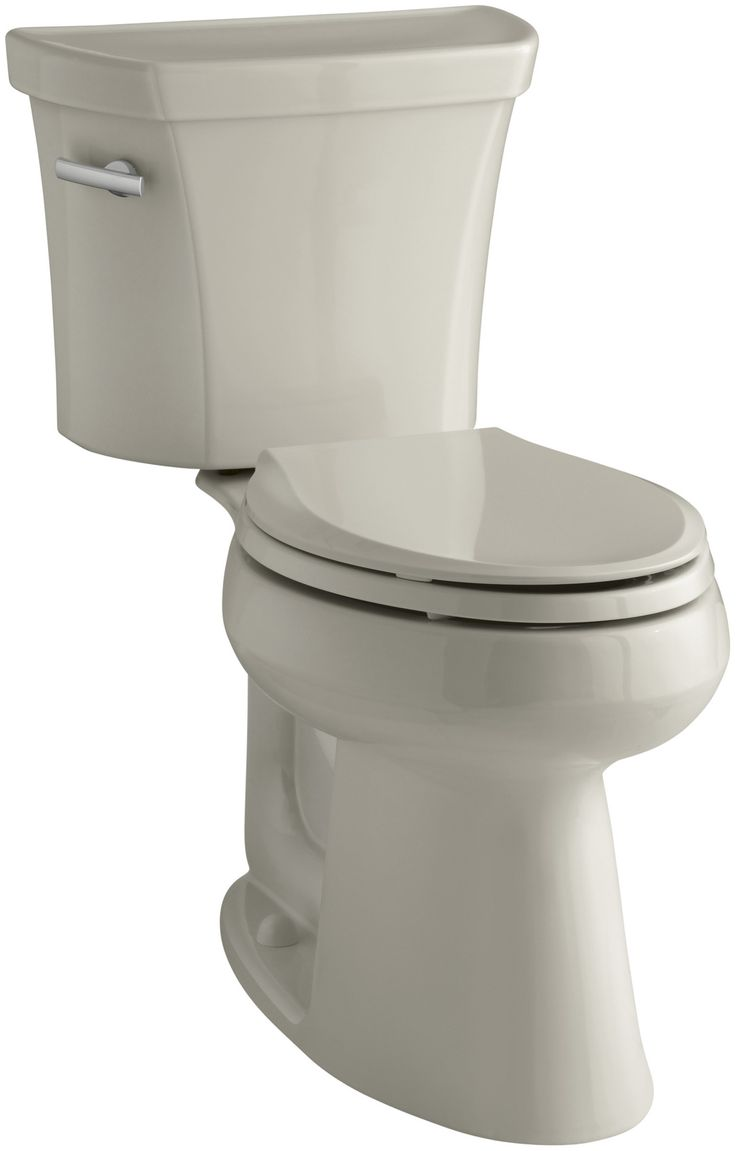 Toilet Flush Cover : Highline comfort height two piece elongated gpf