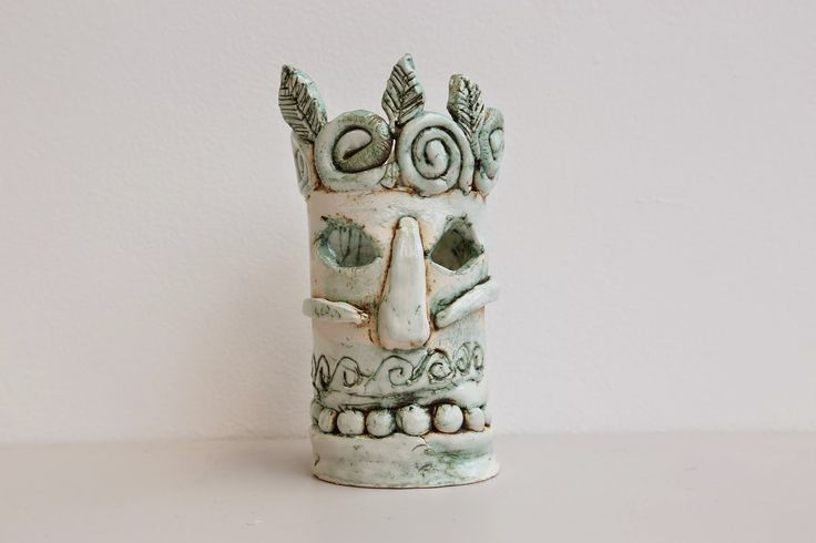 Tiki tiki!  The Saturday Art Club are a talented bunch judging by there latest ceramic creations.