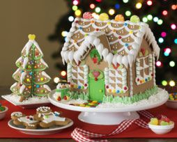 Best Gingerbread Website!!! Tells you everything you need to know to make you own gingerbread house.