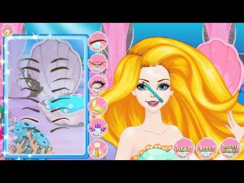 Mermaids Makeover Salon — GAMES FOR KIDS.     Full HD 1080p