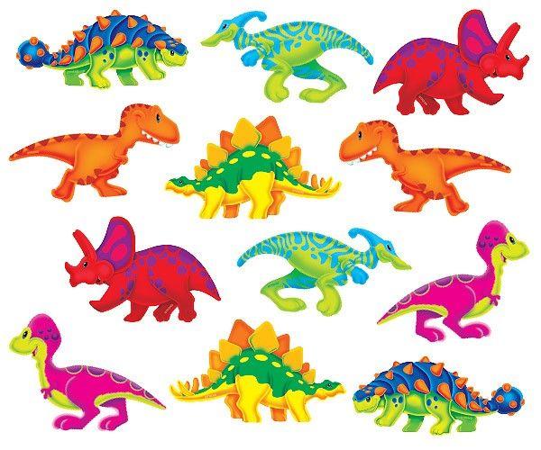 Dino-mite Pals   Mini Accent Cards