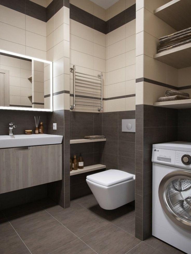 einrichtungsideen-fuer-kleine-raeume-bad-waschmaschine-fliesen-grau-toilette.jpg (750×1000)