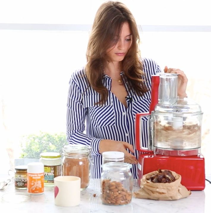 In our first video of a series with the lovely Ella Woodward from Deliciously Ella, she shows you how to make her Baobab Energy Balls. These bites of energy are