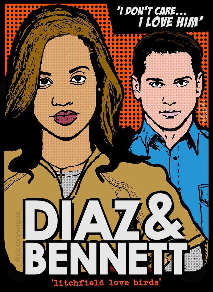 Daya and Bennett #OITNB