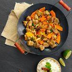 Recept kruidig-zoete tajine met konijn en groenten