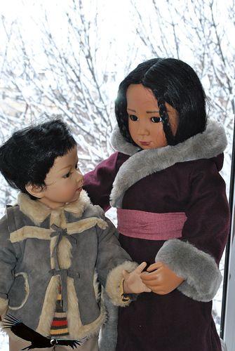 Родственные души. Ling Ling (E. Lindner) и Karma (T. Heath). / Куклы Gotz - коллекционные и игровые Готц / Бэйбики. Куклы фото. Одежда для кукол