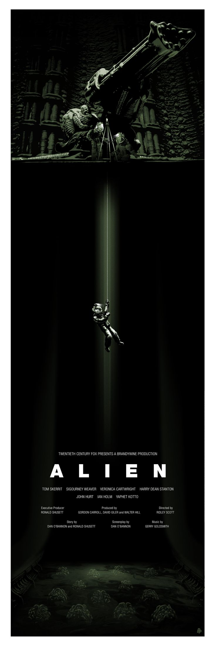 Alien Movie Poster | #movies #poster #alien