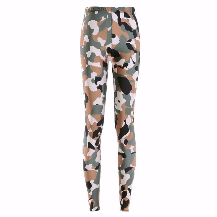 New 3180 Sexy Girl Slim Ninth Pants Army Digital CAMO camouflage Printed Stretch Fitness Women Leggings Plus Size #Affiliate