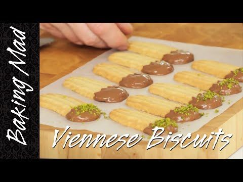 These Viennese biscuits are a lovely tea time treat for you or a wolfy friend... Ingredients: 100g softened unsalted butter 25g icing sugar 1 tsp vanilla ext...