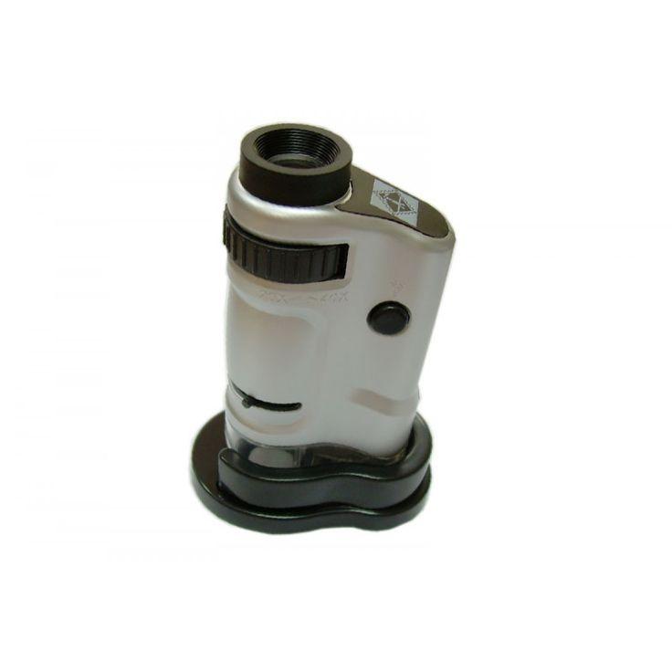 Microscopio | Microscopios de Bolsillo LED 20 x - 40 x