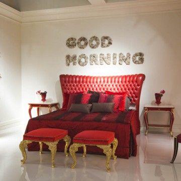 Bedroom floral installation for fair