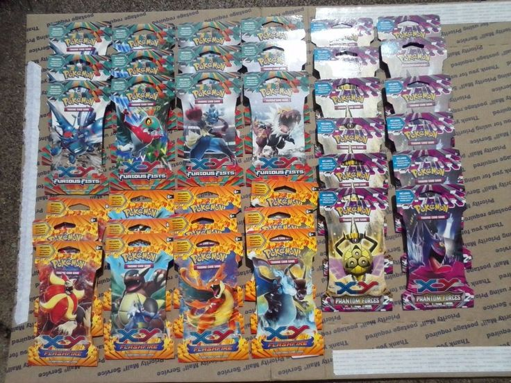 36 Pokemon Full Art Packs New Sealed Sleeved Unsearched TCG Booster 10 Cards per #Nintendo