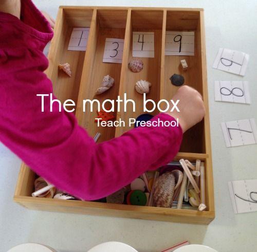 The math box by teach preschool