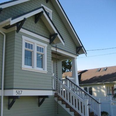 Greenlake Custom Home   Traditional   Exterior   Seattle   Ventana  Construction LLC Wide White Trim